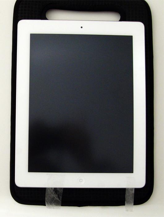 『Airジャケットセット for iPad 2』のアンチグレアフィルム