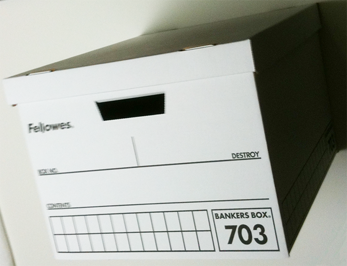 バンカーズボックス(703ボックス)【フェローズ】